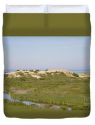 Swamp And Dunes Duvet Cover