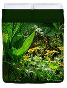 Swamp Bouquet Duvet Cover