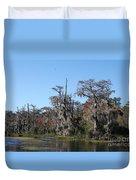 Swamp Serenity Duvet Cover