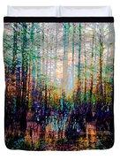 Swamp Colorfest Duvet Cover