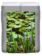 Swamp Flowers  Duvet Cover