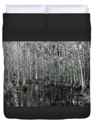 Swamp Greens Duvet Cover