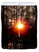 Swamp Light Duvet Cover