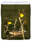 Swamp Muscian Duvet Cover