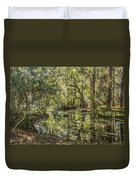 Swamp Reflections Duvet Cover