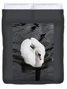Swan 2 Duvet Cover