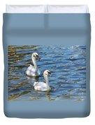 Swan Day Duvet Cover