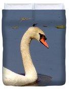 Swan Glide Duvet Cover