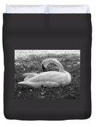 Swan Nap Duvet Cover