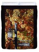 Swan Street Duvet Cover