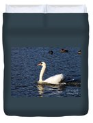 Swan Swim Duvet Cover