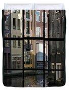 Swans Love Amsterdam Duvet Cover