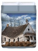 Sway Back School House Duvet Cover