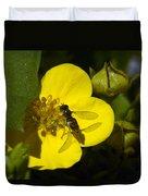 Sweat Bee Duvet Cover