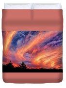 Sweeping Sunset Duvet Cover