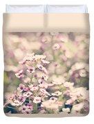 Sweet Alyssum Duvet Cover