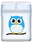 Sweet And Cute Owl Duvet Cover