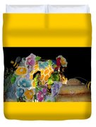 Sweet As Honey - Honey Bees Duvet Cover