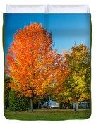 Sweet Autumn Duvet Cover