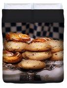 Sweet - Cookies - Cookies And Danish Duvet Cover