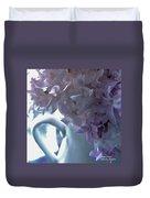 Sweet Cream Lilac Duvet Cover