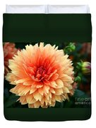 Sweet Dahlia Duvet Cover