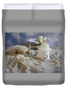 Sweet Discovery Duvet Cover