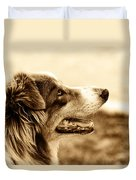 Sweet Doggie Duvet Cover