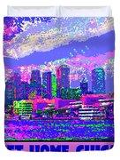 Sweet Home Chicago IIi Duvet Cover