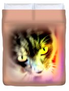 The Sweet Hunter With The Yellow Eyes  Duvet Cover