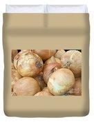 Sweet Onions Nj Grown Duvet Cover