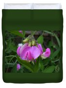 Sweet Pea Perfection Duvet Cover