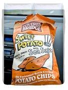 Sweet Potato Chips Duvet Cover