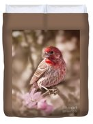 Sweet Songbird Duvet Cover