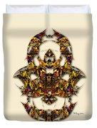 Sweet Symmetry - Kiss Duvet Cover