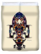 Sweet Symmetry - Projections Duvet Cover