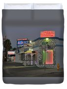 Sweethearts Wedding Chapel Duvet Cover