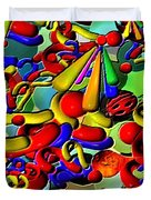 Sweets By Rafi Talby    Duvet Cover
