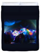 Swerve And Rave Duvet Cover