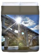 Swift Island Bridge 1 Duvet Cover