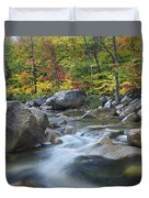 Swift River In Fall White Mountains New Duvet Cover
