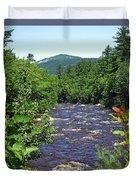 Swift River Mountain View Kancamagus Hwy Nh Duvet Cover