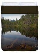 Swim Lake Duvet Cover