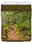 Swim Lake Trail Duvet Cover
