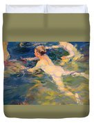 Swimmers Duvet Cover