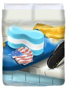 Swimming Pool Duvet Cover