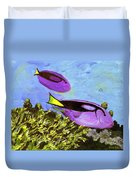 Swimmingly Duvet Cover