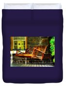 Swing Me Duvet Cover by Lois Bryan