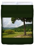 Swing With A View Duvet Cover