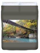 Swinging Bridge Duvet Cover